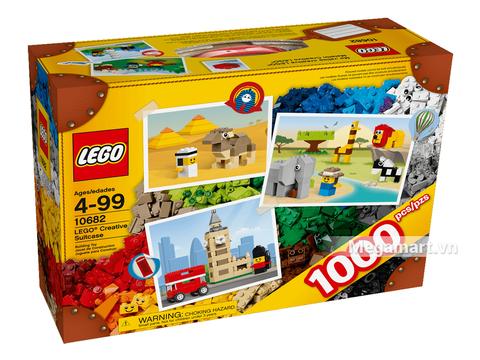 Hình ảnh vỏ hộp bộ Lego Bricks & More 10682 - Vali sáng tạo Lego