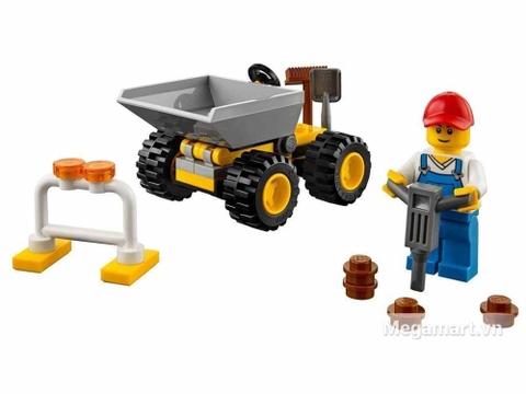 Các mô hình ấn tượng trong bộ Lego City 30348 - Chú Công nhân Vệ sinh