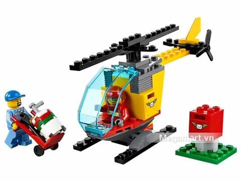 Các mô hình ấn tượng trong bộ Lego City 60100 - Bộ lắp ráp sân bay khởi đầu