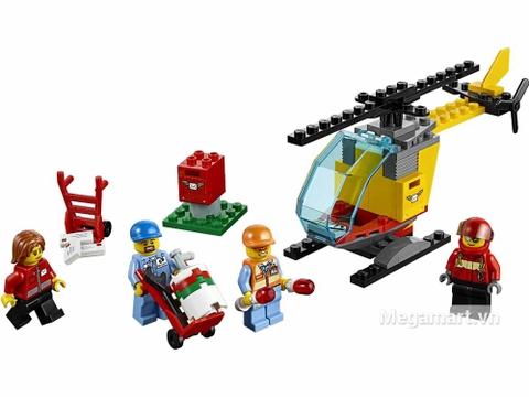 Lego City 60100 - Bộ lắp ráp sân bay khởi đầu - toàn bộ các chi tiết