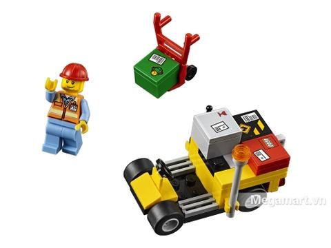 Lego City 60101 - bộ xếp hình cao cấp, an toàn, phát triển trí tuệ