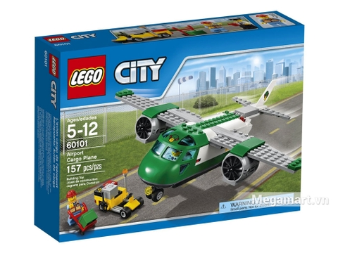 Thông tin chung bộ Lego City 60101 – Máy bay chở hàng