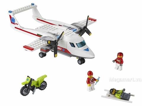 Máy bay cứu hộ chuyên dụng của bệnh viện LEGO