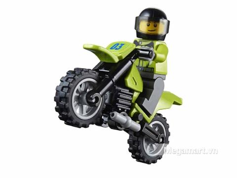 Tay đua Lego Xanh với kinh nghiệm tham gia nhiều giải thi đấu
