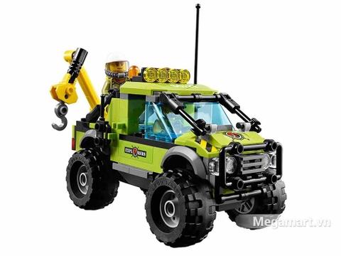 Các mô hình ấn tượng trong bộ Lego City 60121 - Xe khám phá núi lửa