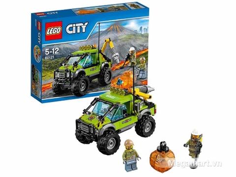 Lego City 60121 - Xe khám phá núi lửa - mô hình mới