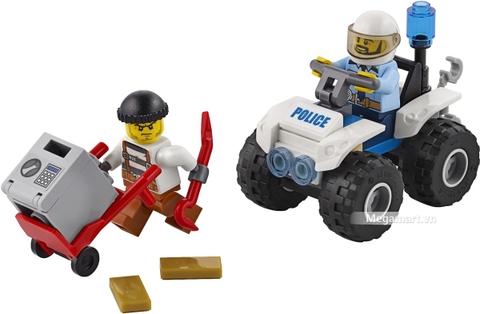 Các mô hình ấn tượng trong bộ Lego City 60135 - Xe địa hình cảnh sát