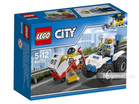 Hình ảnh vỏ hộp bộ Lego City 60135 - Xe địa hình cảnh sát