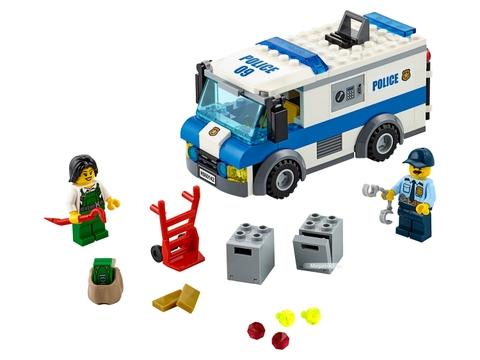 Các mô hình ấn tượng trong bộ Lego City 60142 - Xe chuyển tiền