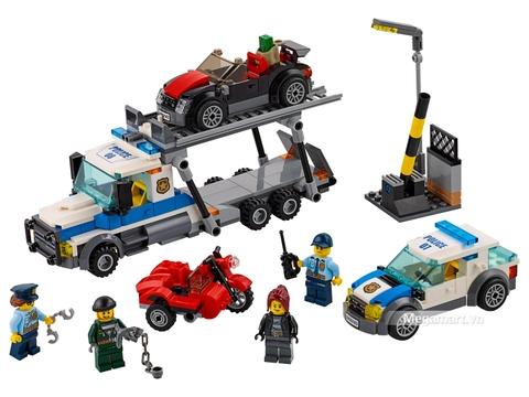 Các mô hình ấn tượng trong bộ Lego City 60143 - Xe vận chuyển phi pháp