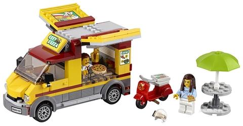 Các mô hình ấn tượng trong bộ Lego City 60150 - Xe Pizza