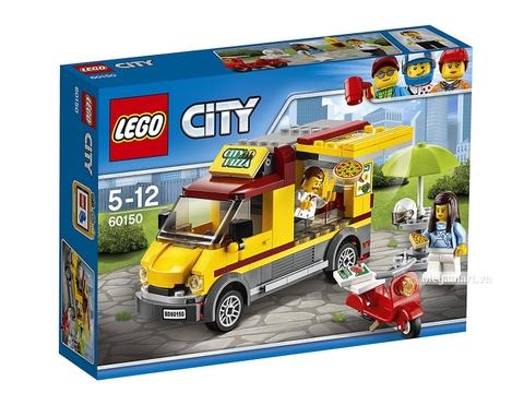 Hình ảnh vỏ hộp bộ Lego City 60150 - Xe Pizza