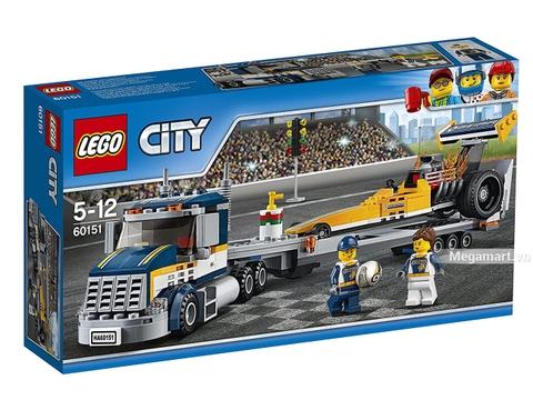 Lego City 60151 - Xe vận chuyển cỡ lớn - Hình ảnh vỏ hộp sản phẩm