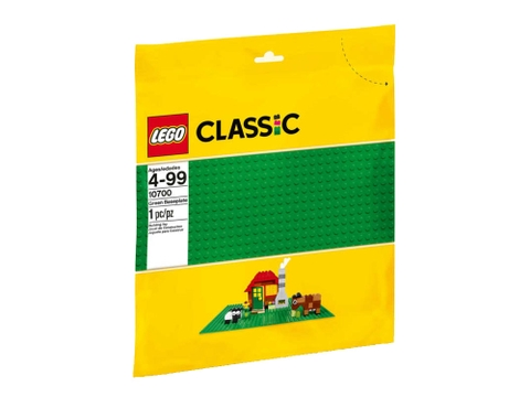 Túi đựng Lego Classic 10700 - Tấm nền xây dựng màu xanh