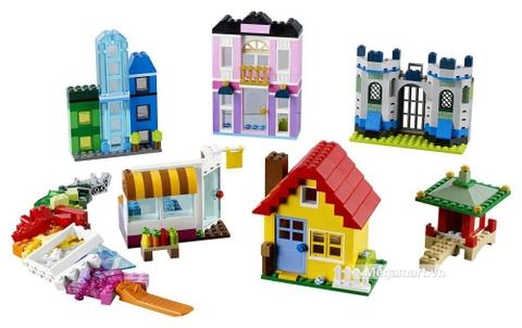Các mô hình ấn tượng trong bộ Lego Classic 10703 - Hộp lắp ráp sáng tạo