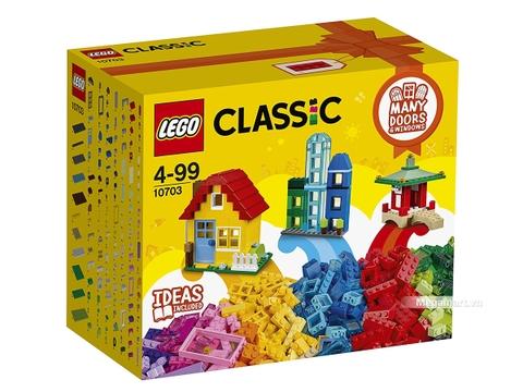 Hình ảnh vỏ hộp bộ Lego Classic 10703 - Hộp lắp ráp sáng tạo