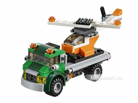 Các mô hình ấn tượng trong bộ Lego Creator 31043 - Xe vận chuyển trực thăng