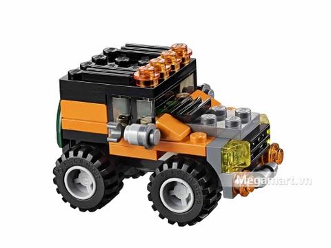 Lego Creator 31043 - Xe vận chuyển trực thăng - xe jeep chuyên dụng