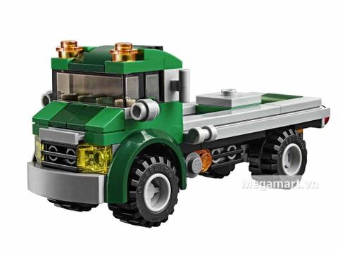 Lego Creator 31043 - Xe vận chuyển trực thăng - xe tải xanh