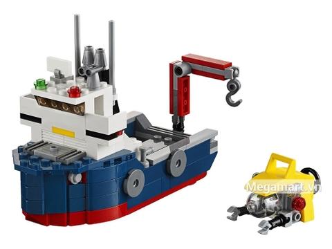 Bộ đồ chơi Lego Creator 31045 - Khám phá đại dương