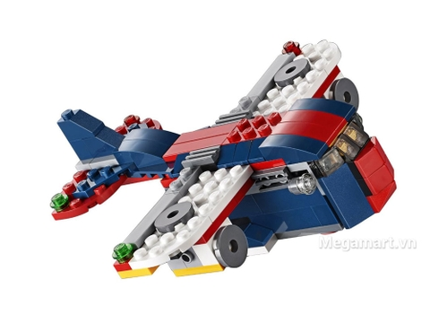 Các chi tiết có trong bộ xếp hình Lego Creator