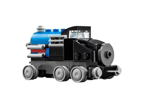 Các mô hình ấn tượng trong bộLego Creator 31054 - Đầu tàu Xe lửa mini