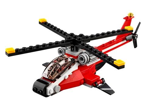 Các mô hình ấn tượng trong bộLego Creator 31057 - Trực thăng Blazer