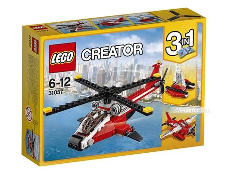 Hình ảnh vỏ hộp bộ Lego Creator 31057 - Trực thăng Blazer