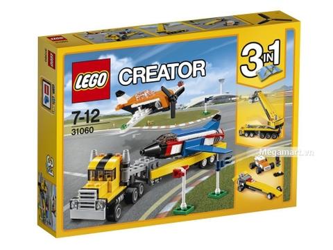 Hình ảnh vỏ hộp bộ Lego Creator 31060 - Buổi biểu diễn trên không