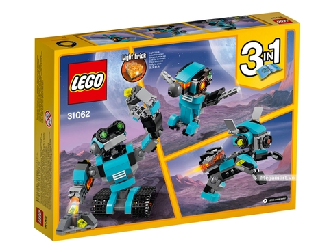 Đồ chơi Lego Creator 31062 - Robot thăm dò