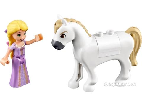 Lego Disney Princess 41065 - Ngày tuyệt vời của Rapunzel - cô bạn và chú ngựa hoàng gia