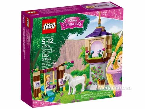 Lego Disney Princess 41065 - Ngày tuyệt vời của Rapunzel - ảnh bìa sản phẩm