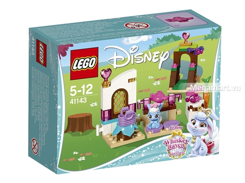 Hình ảnh vỏ hộp bộ Lego Disney Princess 41143 - Nhà bếp của Berry