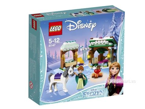 Vỏ hộp Lego Disney Princess 41147 - Chuyến phiêu lưu núi tuyết của Anna