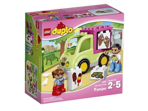 Hình ảnh vỏ hộp bộ Lego Duplo 10586 - Xe Kem