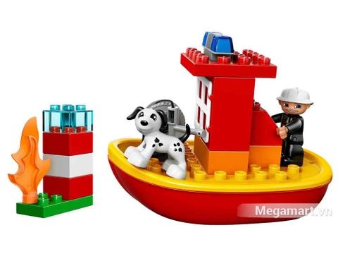 Lego Duplo 10591 - Tàu cứu hỏa - bộ đồ chơi của trẻ