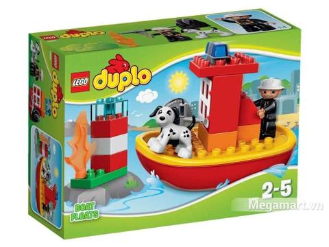 Lego Duplo 10591 - Tàu cứu hỏa - ảnh bìa sản phẩm