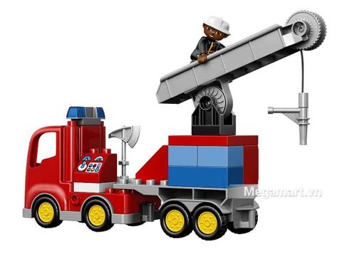 Lego Duplo 10592 - Xe cứu hỏa - các chi tiết chính