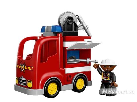 Lego Duplo 10592 - Xe cứu hỏa - chiếc xe được bảo dưỡng