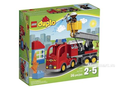 Lego Duplo 10592 - Xe cứu hỏa - ảnh bìa sản phẩm