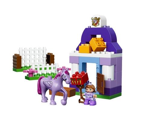 Mô hình Lego Duplo 10594 - Chuồng Ngựa Hoàng Gia Của Sofia