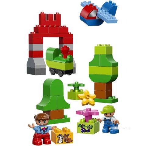 Các mô hình ấn tượng trong bộ Lego Duplo 10622 -  Bộ lắp ráp Duplo lớn sáng tạo