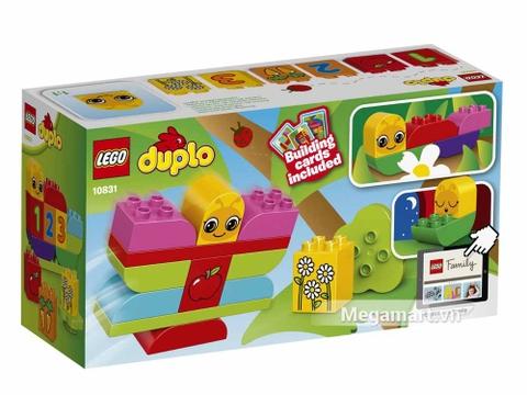 Vỏ bìa sau của Lego Duplo 10831