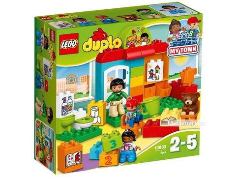 Hình ảnh vỏ hộp bộ Lego Duplo 10833 - Lớp học mầm