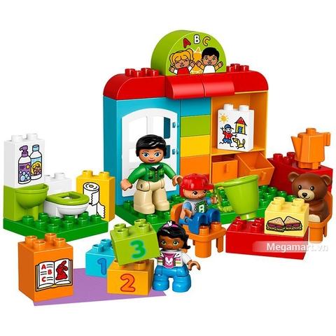 Các mô hình ấn tượng trong bộ Lego Duplo 10833 - Lớp học mầm