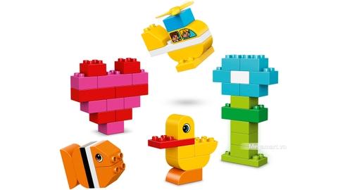 Các mô hình ấn tượng trong bộ Lego Duplo 10848 - Bộ chi tiết gạch đầu tiên