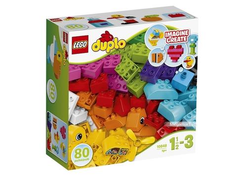 Hình ảnh vỏ hộp bộ Lego Duplo 10848 - Bộ chi tiết gạch đầu tiên