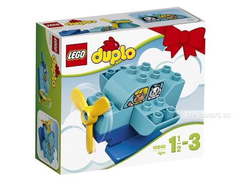 Hình ảnh vỏ hộp bộ Lego Duplo 10849 - Máy bay đầu