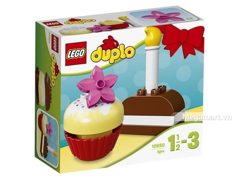 Hình ảnh vỏ hộp bộ Lego Duplo 10850 - Bánh kem đầu tiên
