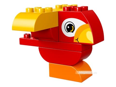 Các mô hình ấn tượng trong bộ Lego Duplo 10852 - Chú vẹt đầu tiên